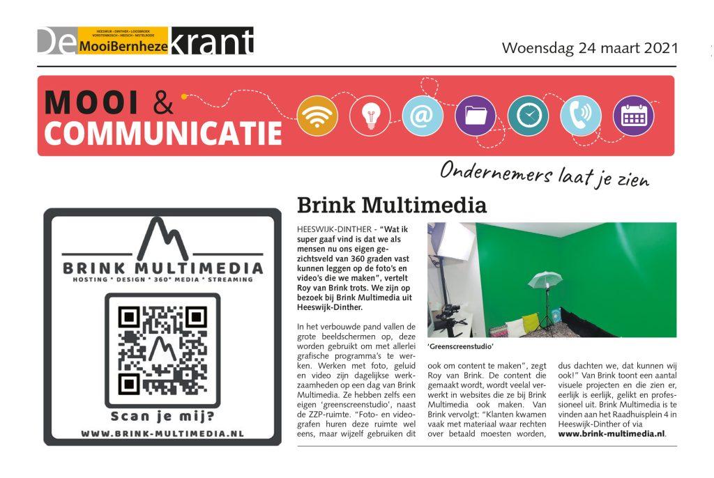 Brink Multimedia en DMBK